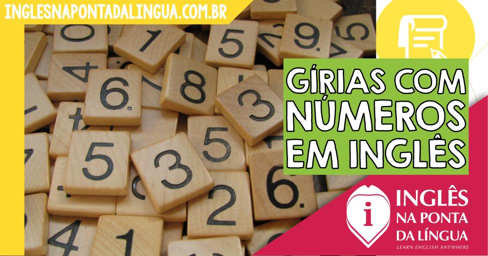 Gírias com Números em Inglês