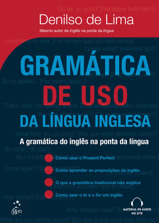Livros de Inglês: Gramatica de Uso da Lingua Inglesa
