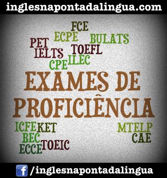 Exames de Proficiência em Inglês
