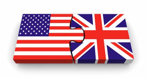 Inglês Americano e Inglês Britânico