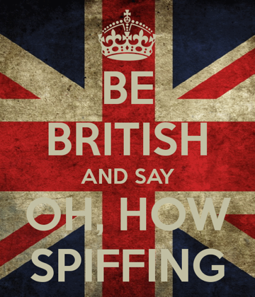 O que significa spiffing?