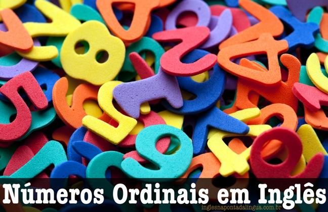 Números Ordinais em Inglês