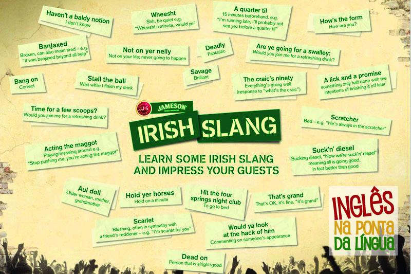 Gírias do Inglês Irlandês