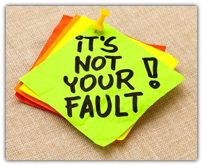 diferença entre fault e blame