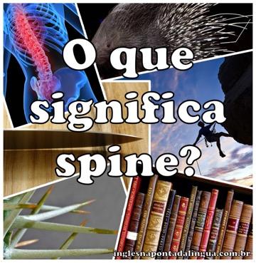 O que significa spine?