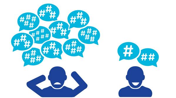 O que significa hashtag?