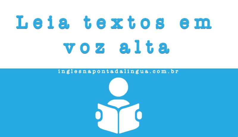 leitura de textos em inglês