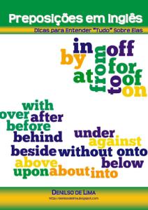 eBook: Preposições em Inglês