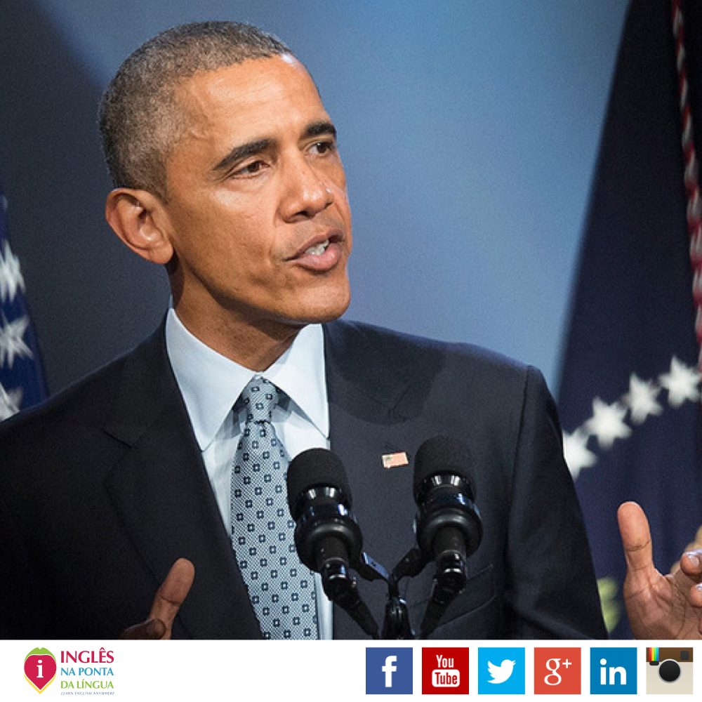 Texto em Inglês: Obama on Gun Violence