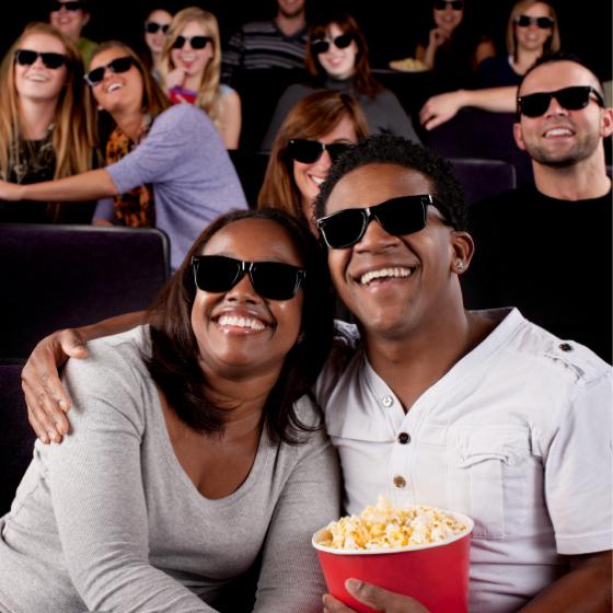 Você assiste a filmes por prazer ou sempre para aprender algo?