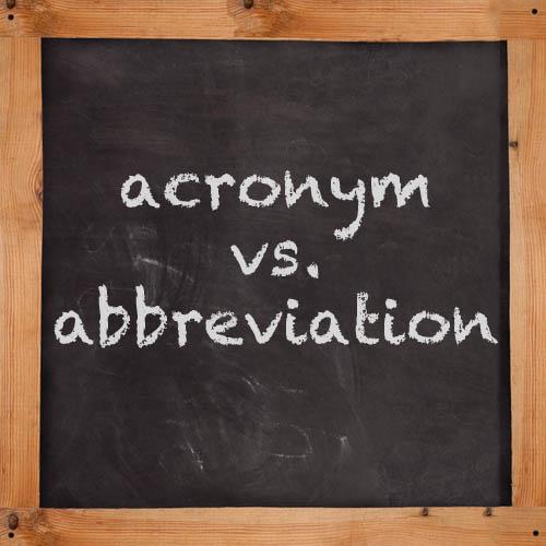 Acrônimos e Abreviações em Inglês
