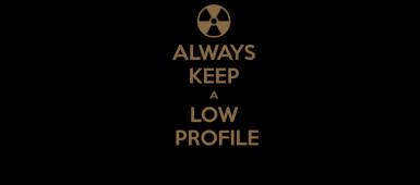 keep-a-low-profile