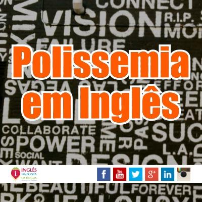 Polissemia em Inglês