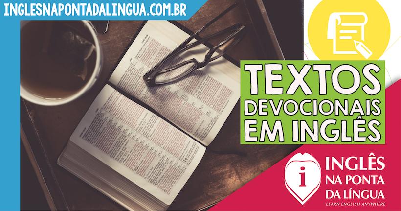 Textos Devocionais em Inglês
