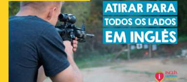ATIRAR PARA TODOS OS LADOS EM INGLÊS