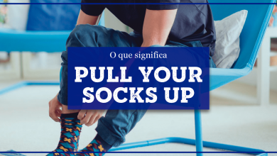 Pull One's Socks Up significado