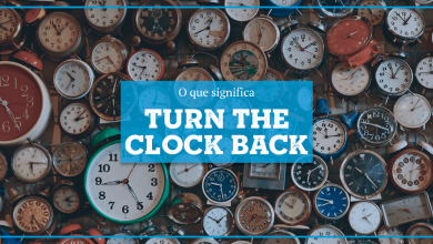 Turn The Clock Back Significado