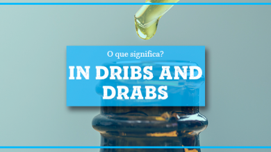In Dribs and Drabs :: significado