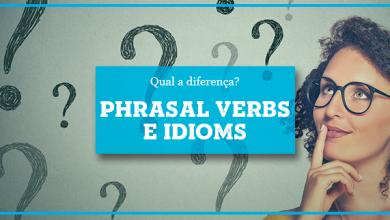 Phrasal Verbs e Expressões em Inglês