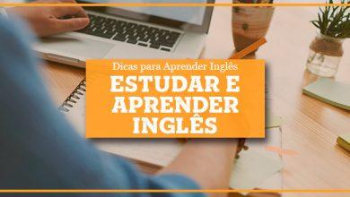 Estudar Inglês e Aprender Inglês